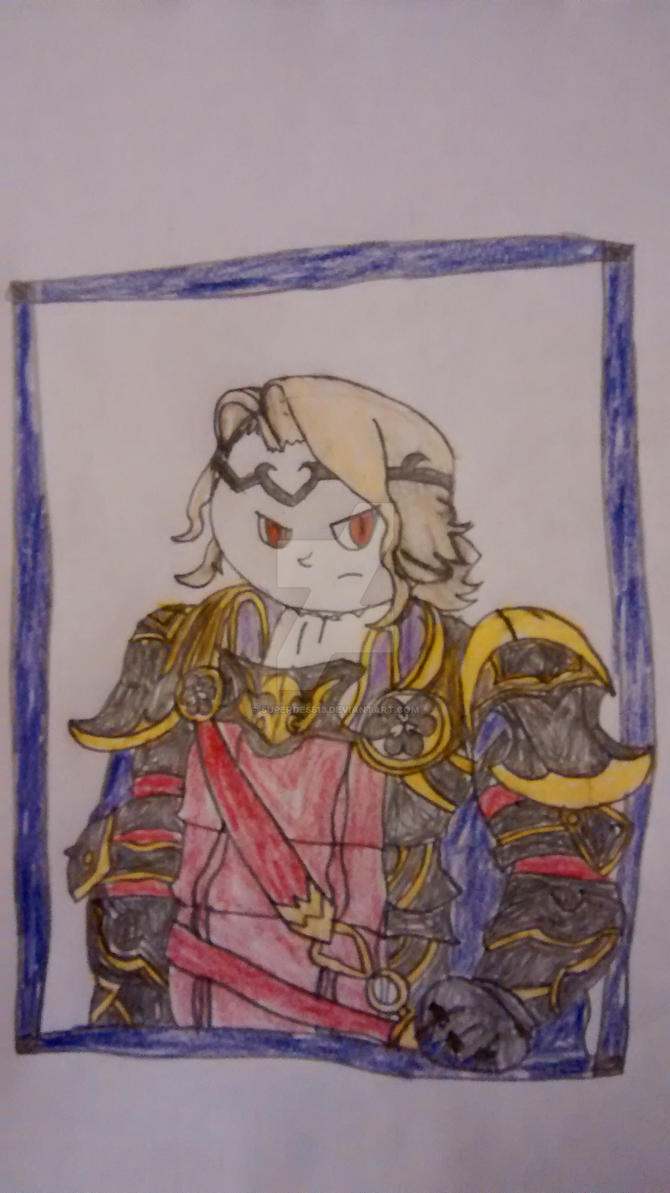 FE: Fates: Xander by superdes513