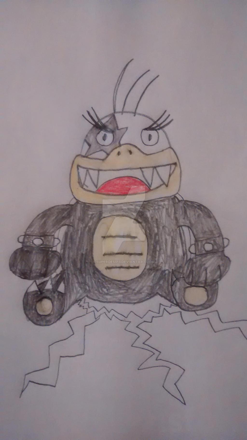 Morton Koopa Jr by superdes513