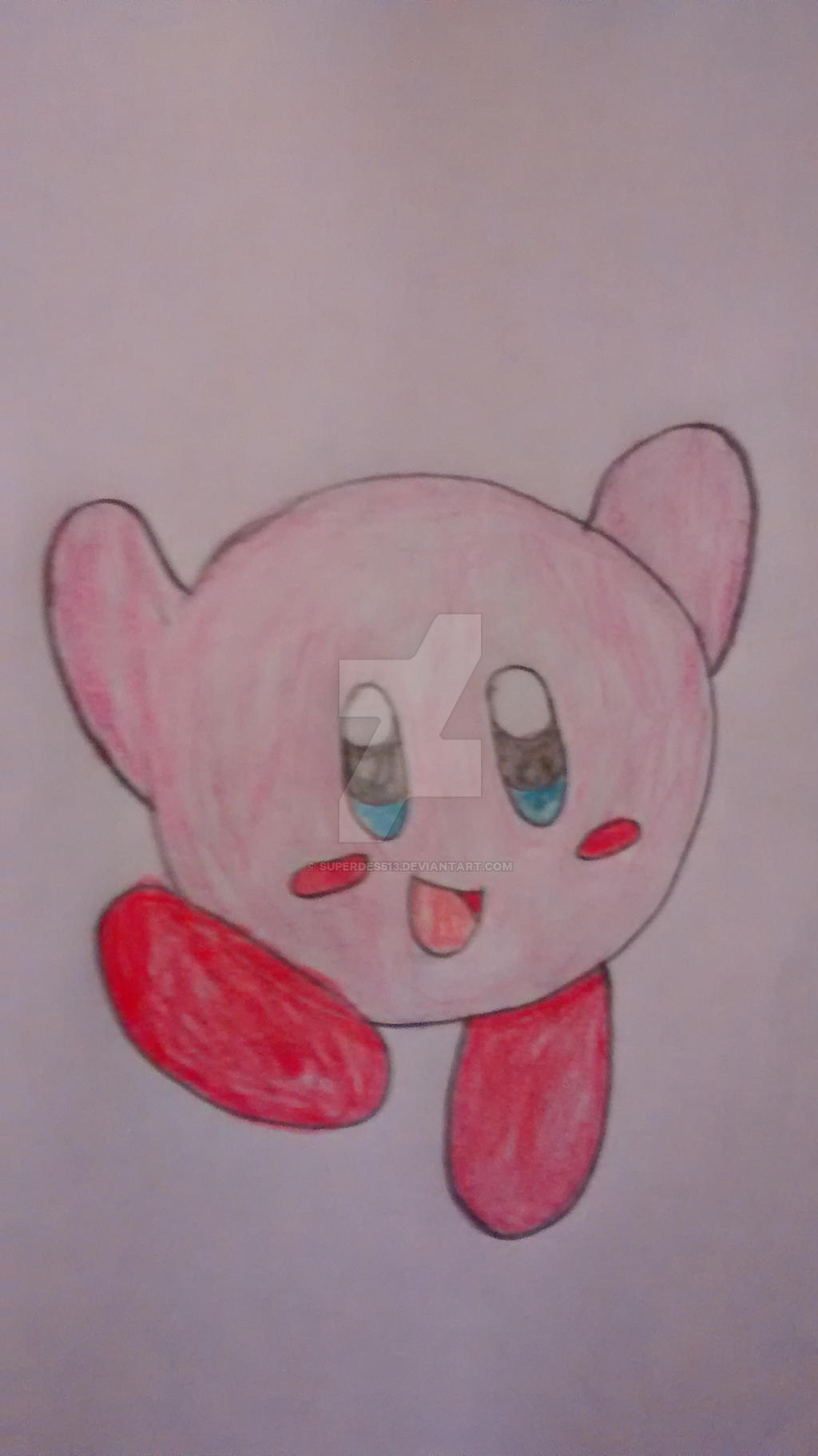 Kirby (Re-draw) by superdes513