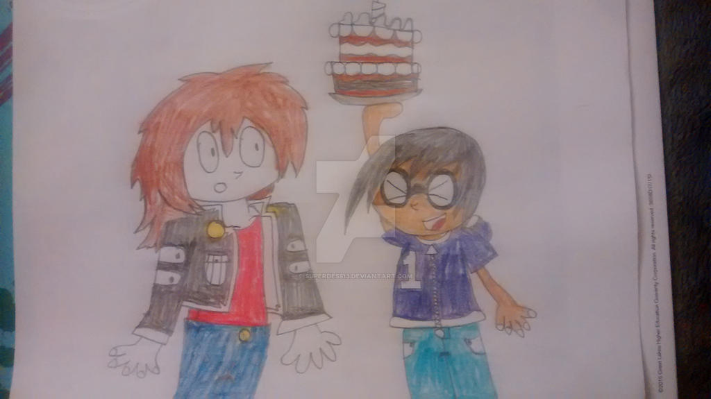 Happy birthday DatFilthySora by superdes513