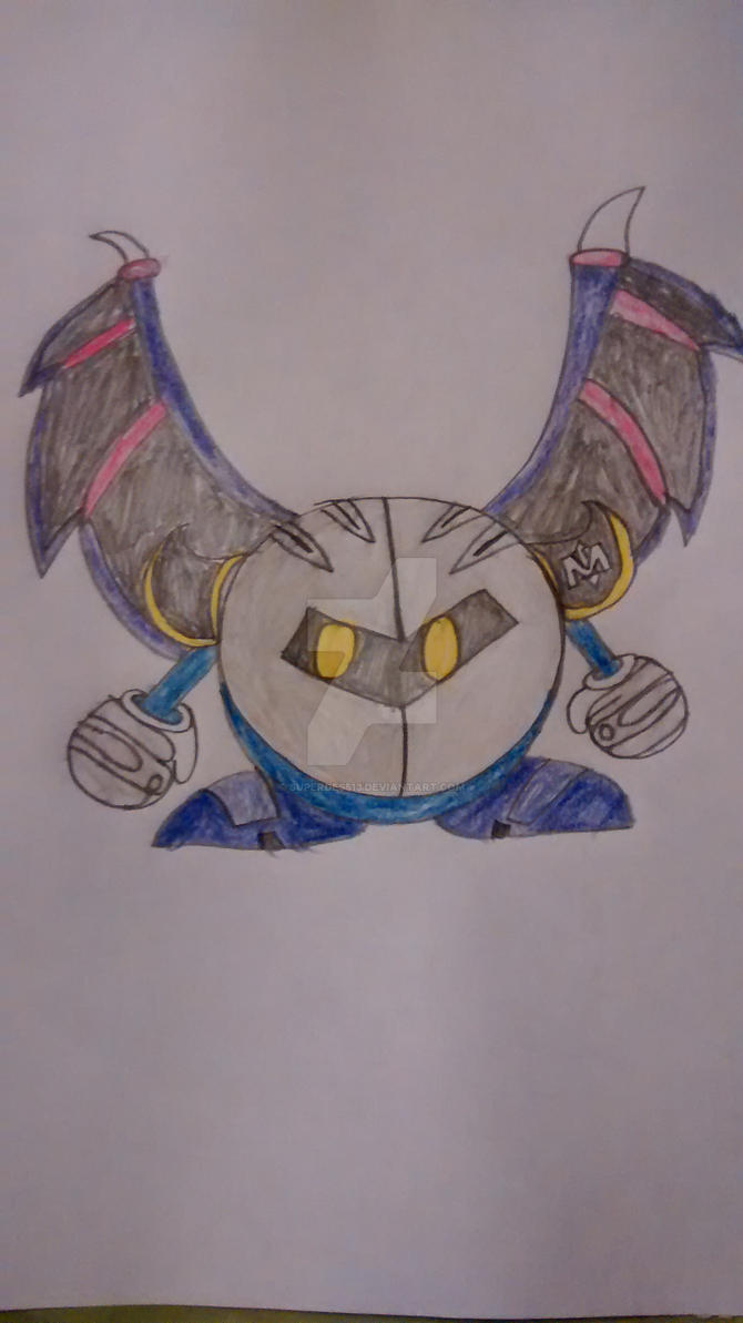 Meta Knight by superdes513