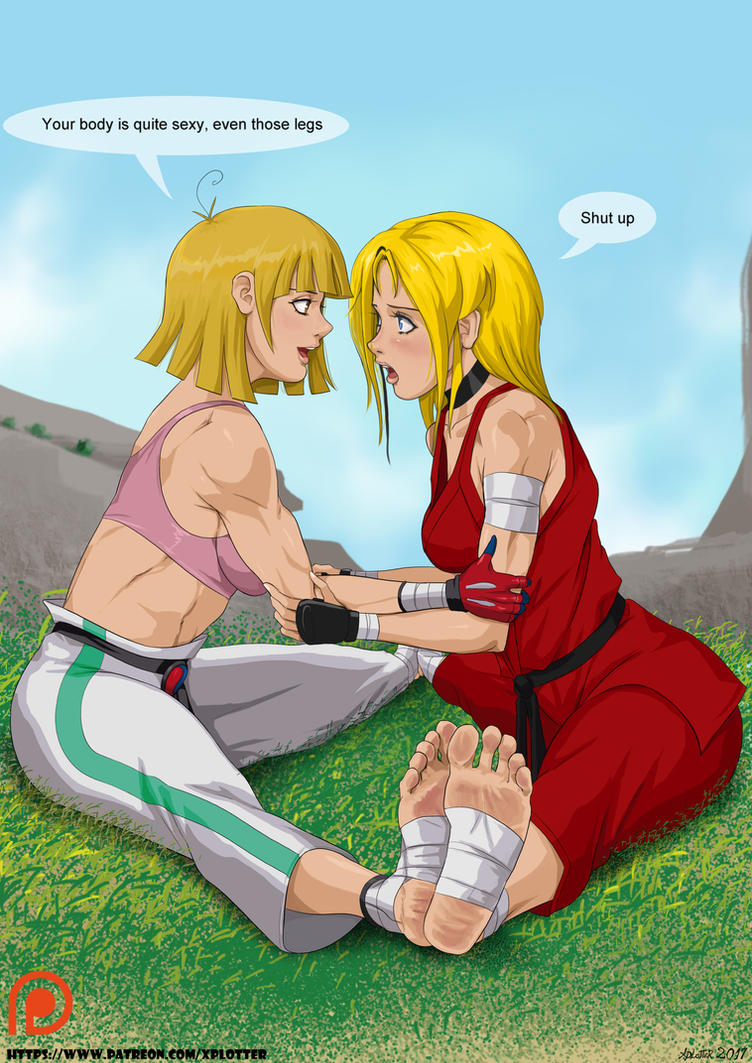 Kim and Karin By Xplotter by superdes513