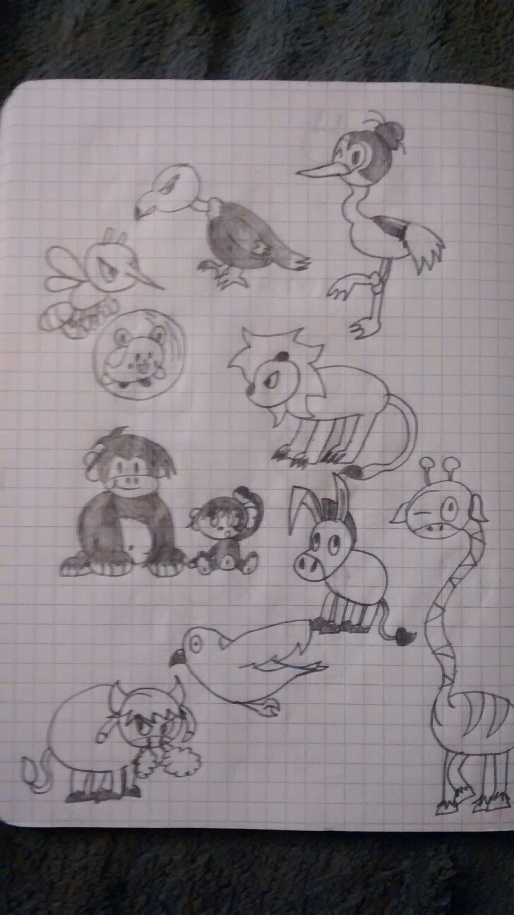 Animal doodle 2 by superdes513