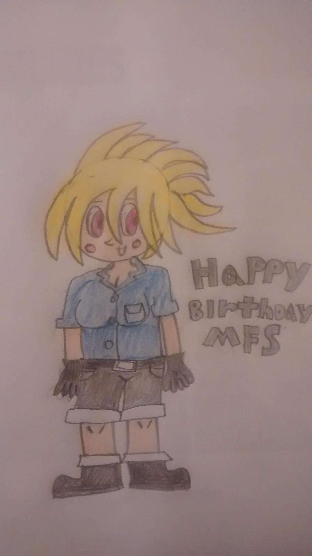 Happy Birthday Mostlyfunstuff by superdes513