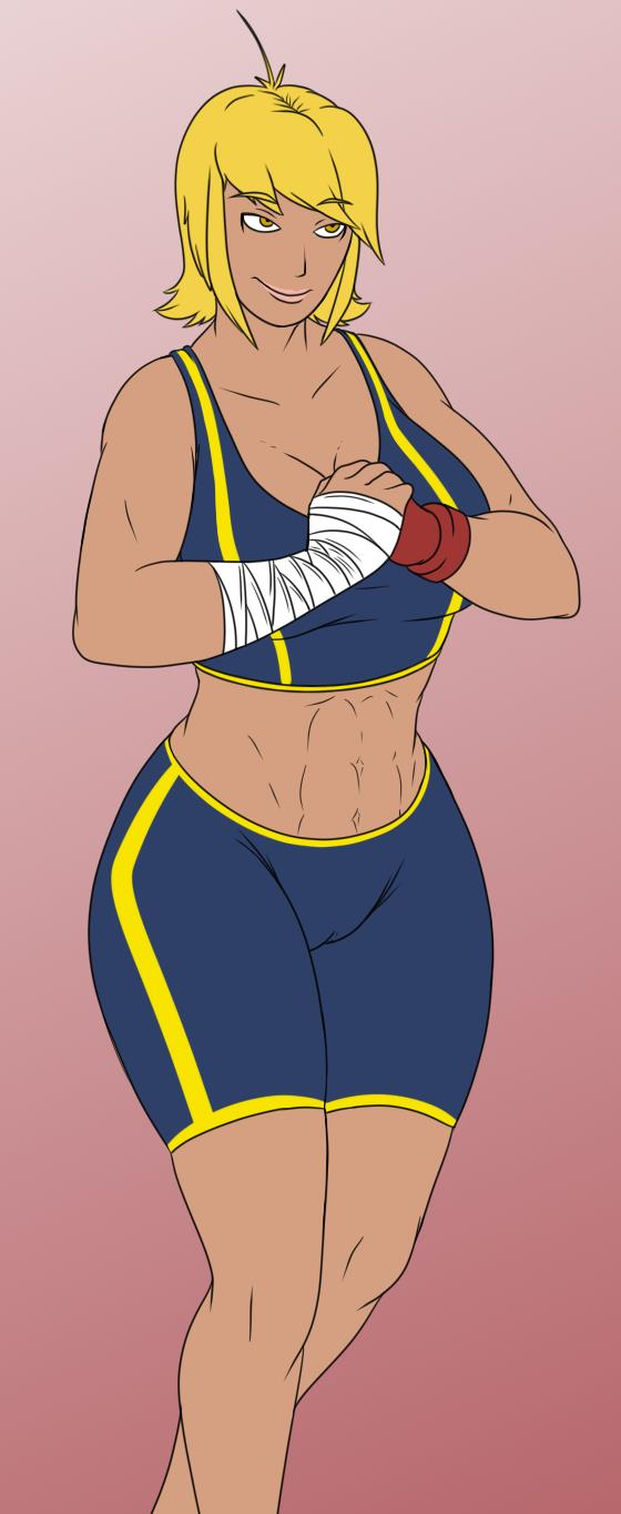 Karen is Ready for Sparring by BPQ00X by superdes513