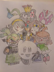 My Smash Ultimate mains by superdes513