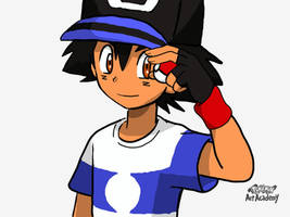 Alola Ash by Loveponies89