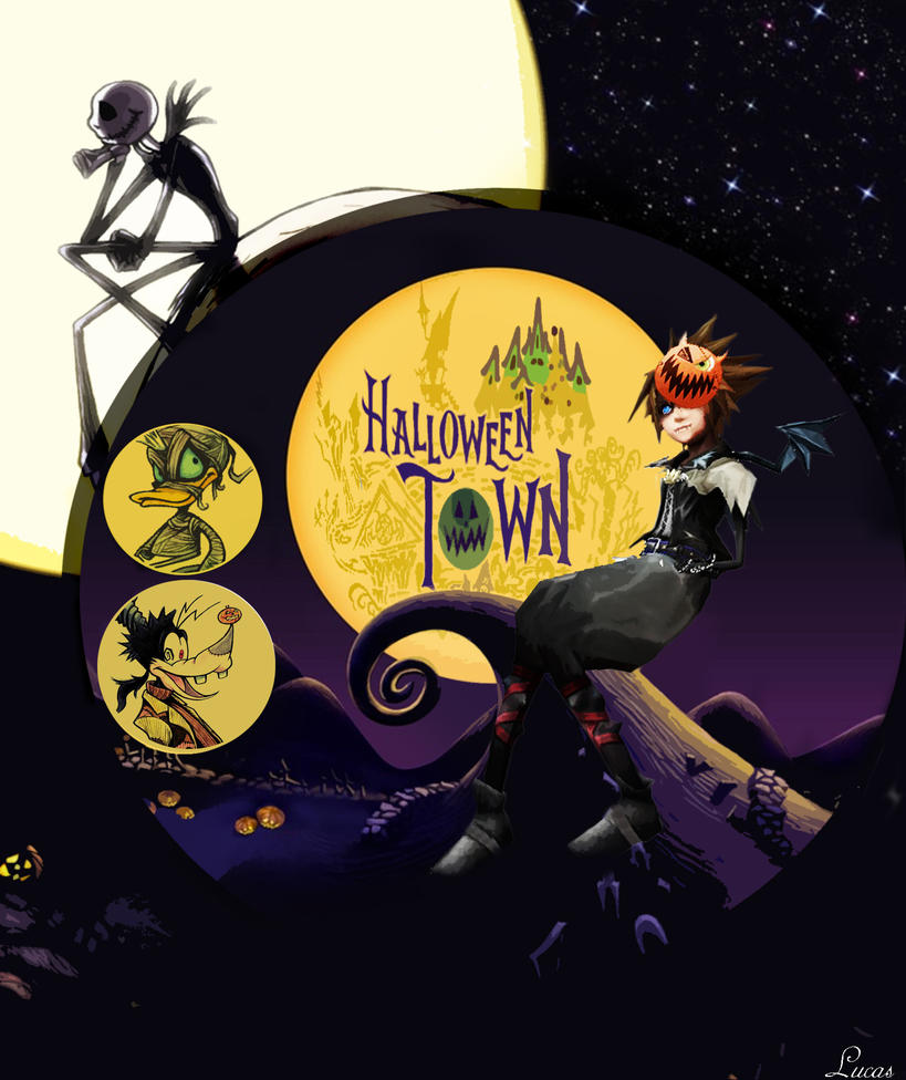 kingdom hearts halloween town by luncaster3 on DeviantArt