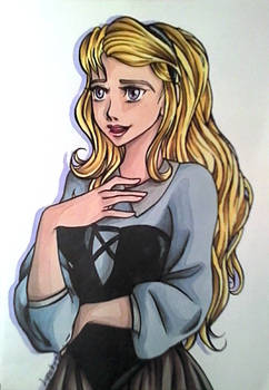 Aurore / Rose - Disney Challenge