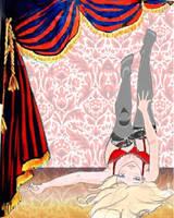 the girl in red by KuroSuzuNeko