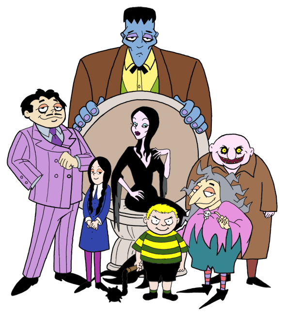 The addams family by b hindhaz l yes on deviantart