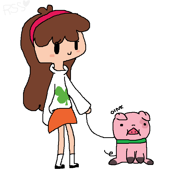 Mabel And Waddles asdfghjk by RainbowSnowSocks