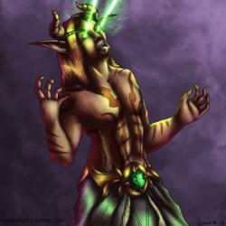 Demon Hunter Vengance by redrockwildcat