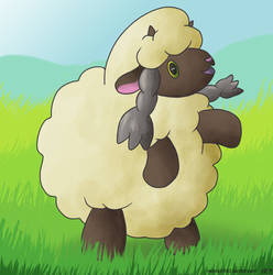 Wooloo is the best Tumblefluff