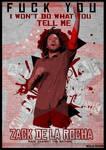 Poster Zack de la Rocha Rage Against the Machine