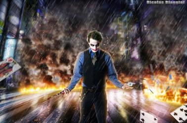 The Joker by sirpsychosexy8