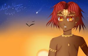 Contra [A Princess] ~A Gift to Ryan Martinez by AnimaTarot