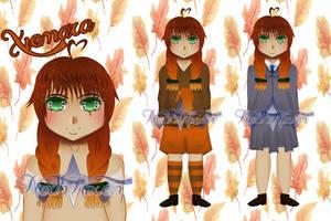 Xiomara Character Sheet (OC)