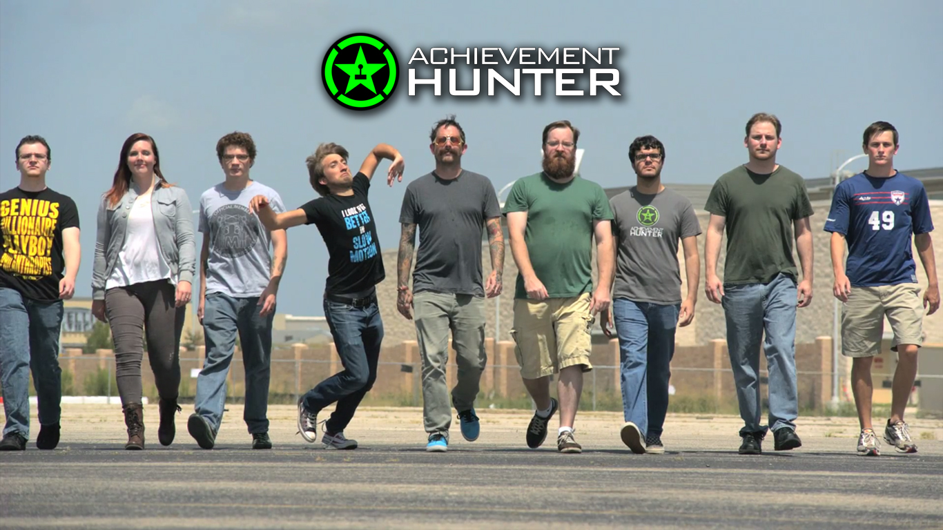 Achievement Hunter Wide Shot Wallpaper by masteroffunny on ...
