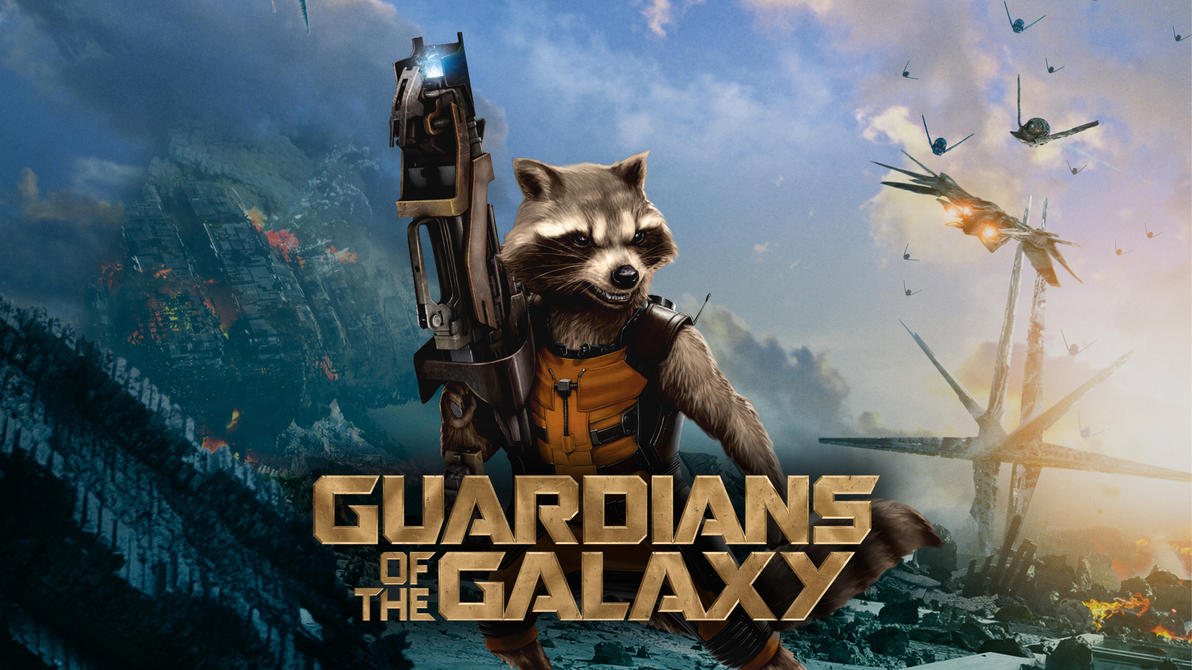 Guardians Of The Galaxy Rocket Wallpaper By Masteroffunny