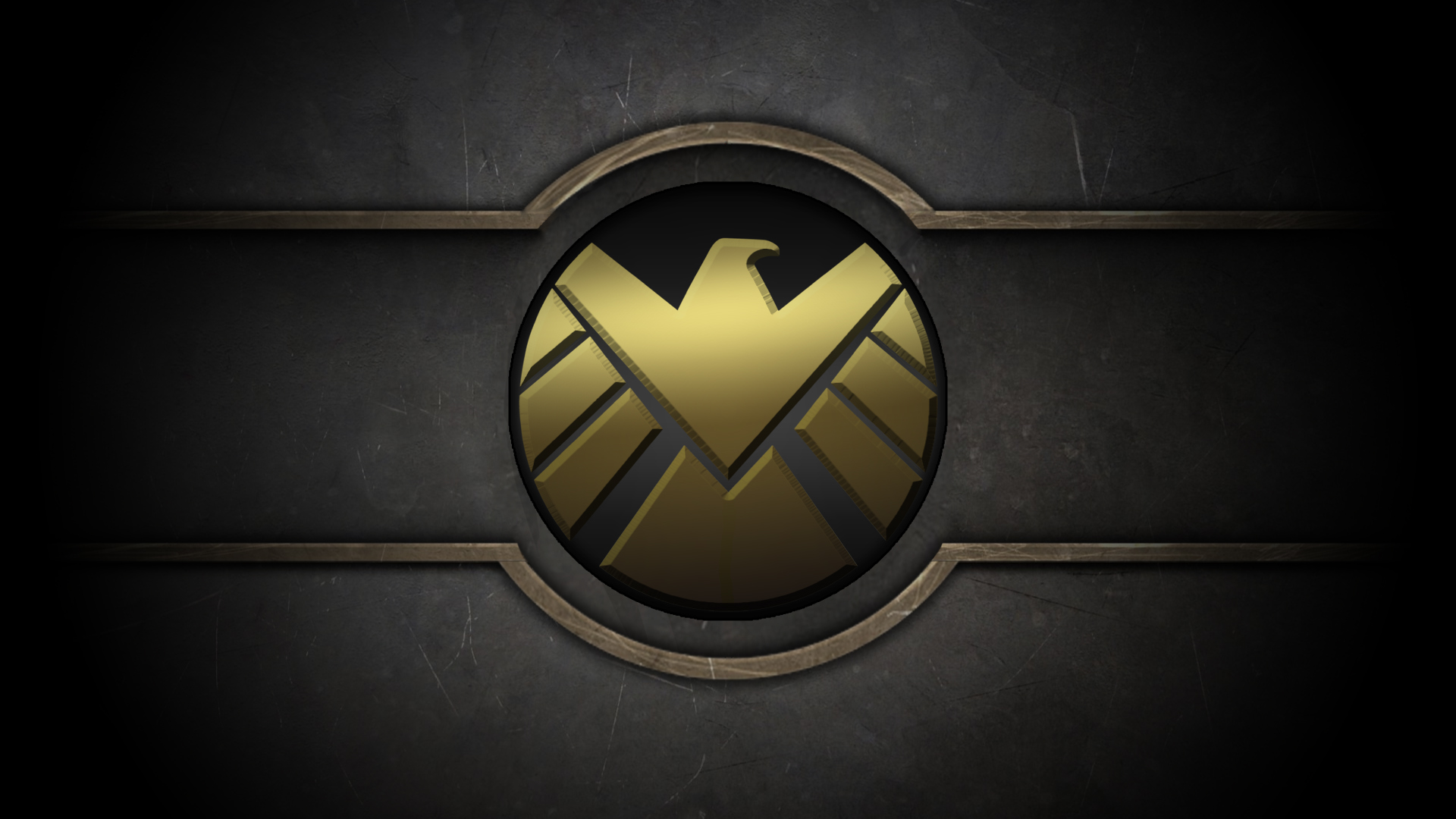 SHIELD Logo Wallpaper 1920x1080 By Masteroffunny