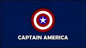 Captain America Minimalist Wallpaper 6400x3600