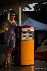 Retro Fuel Girl by FalkLumo