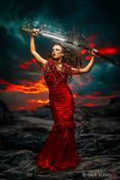 Striking Red by FalkLumo