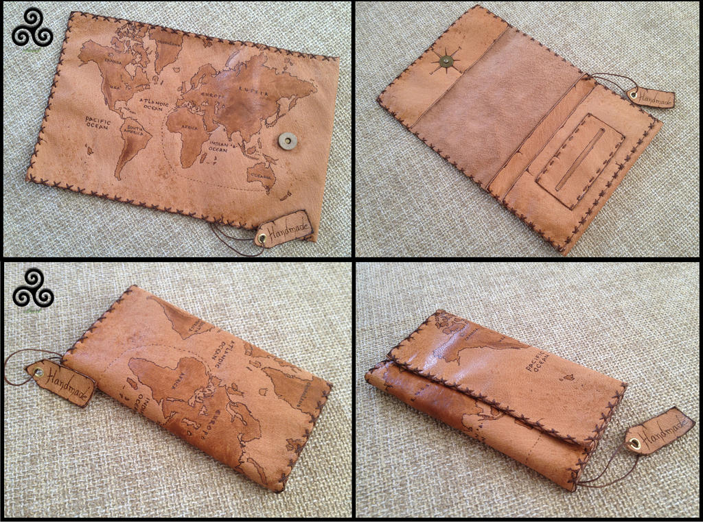 Genuine leather world map tobacco pouch by eleana1987 on deviantart genuine leather world map tobacco pouch gumiabroncs Gallery