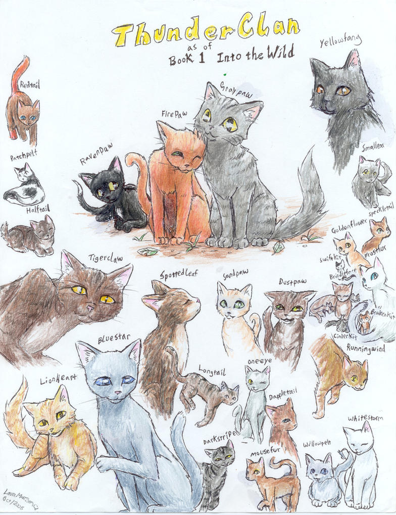 book cat wild Adult name