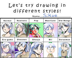Styles Meme :Sikue