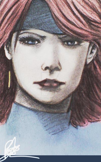 Meryl (Metal Gear Soild) by BeckyRawr
