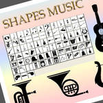 Music Custom Shapes Photoshop