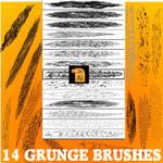 Grunge art brushes illustrator cs4