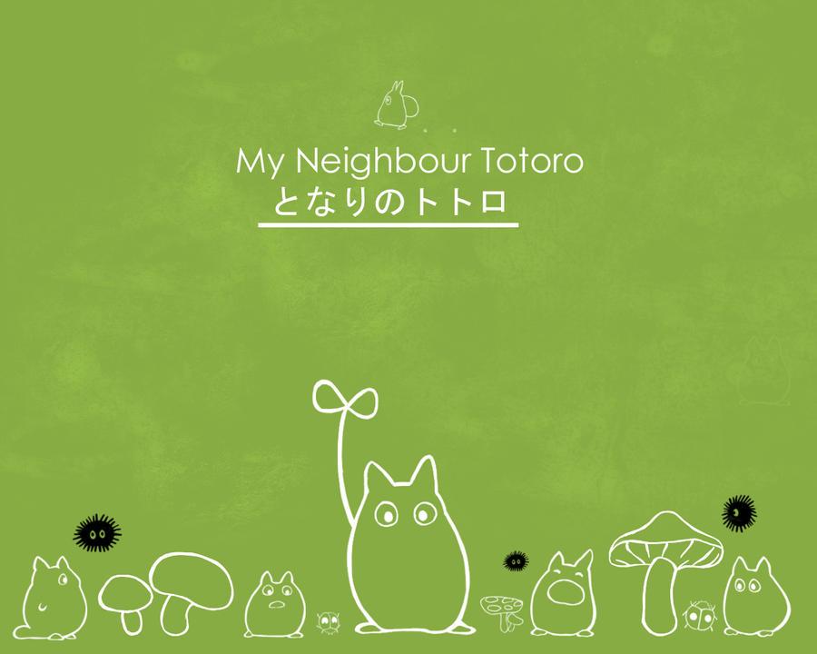 Totoro Wallpaper by MyScarredHeart
