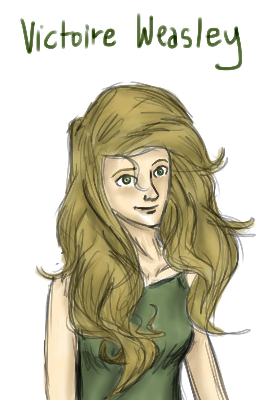 Victoire Weasley by CloudedInfluence on deviantART