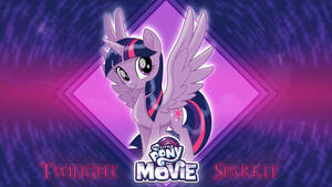 MLP Movie Wallpaper - Twilight Sparkle by TheDarkSatanicorn
