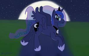 A Silent Night Flight by CosmikVek
