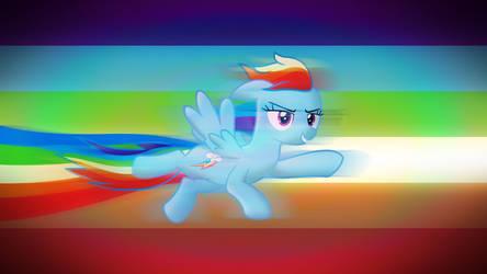 Rainbow Dash - HD Wallpaper by TheDarkSatanicorn