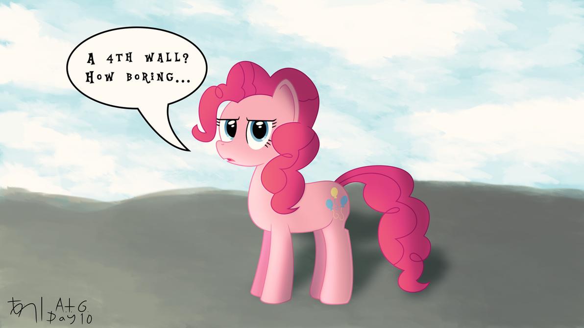 ATG DAY 10: Pinkie Not Being Pinkie by TheDarkSatanicorn