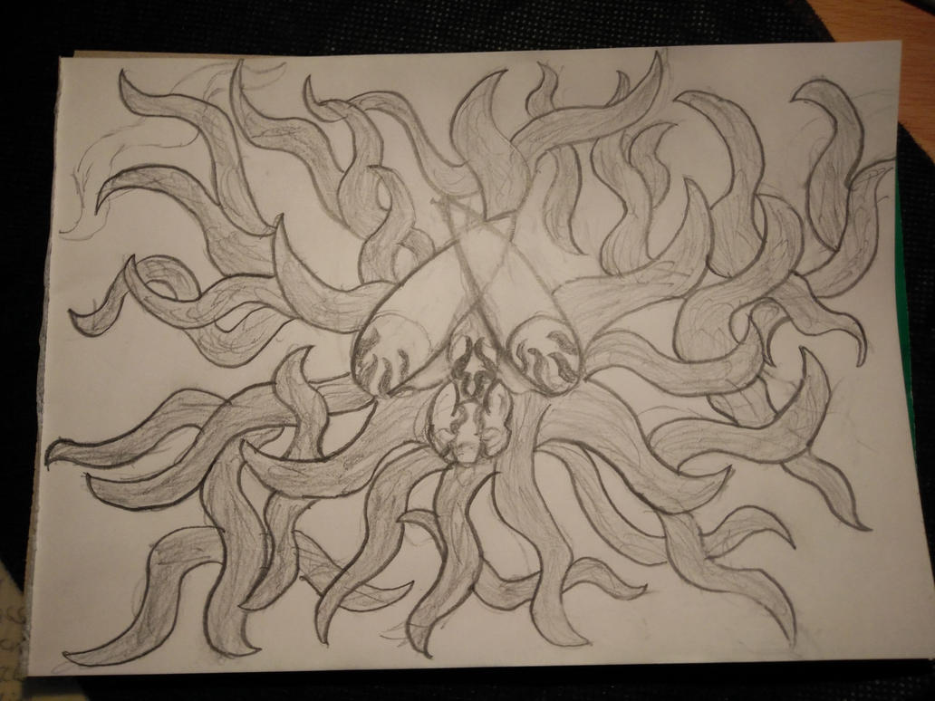 Doodle Nr. 1 : Darkness Arise by CalamitySoul