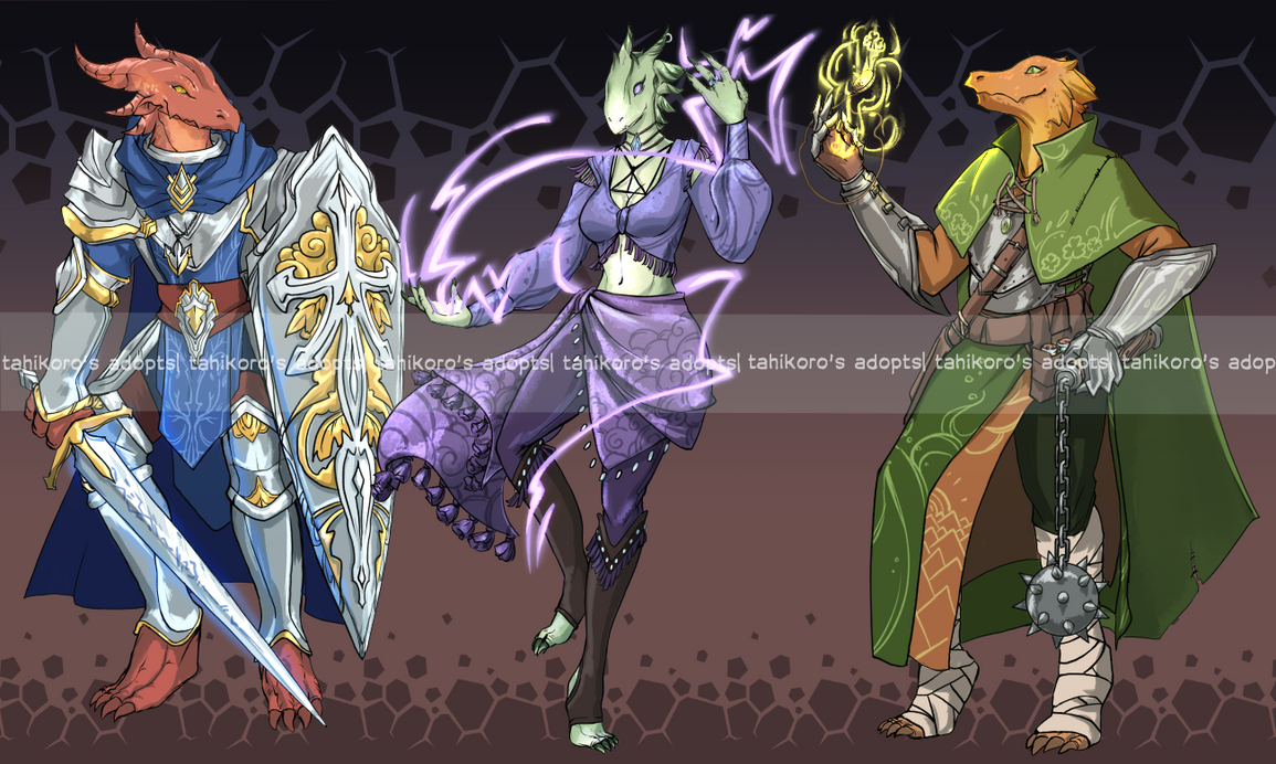 DnD - Dragonborn adopts ack [OPEN] by Tahikoro