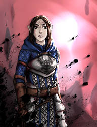 Grey Warden by Tahikoro