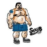 SEXYB doodling #8