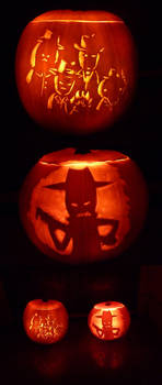 PUMPKINS FILLED WITH MIDNIGHT