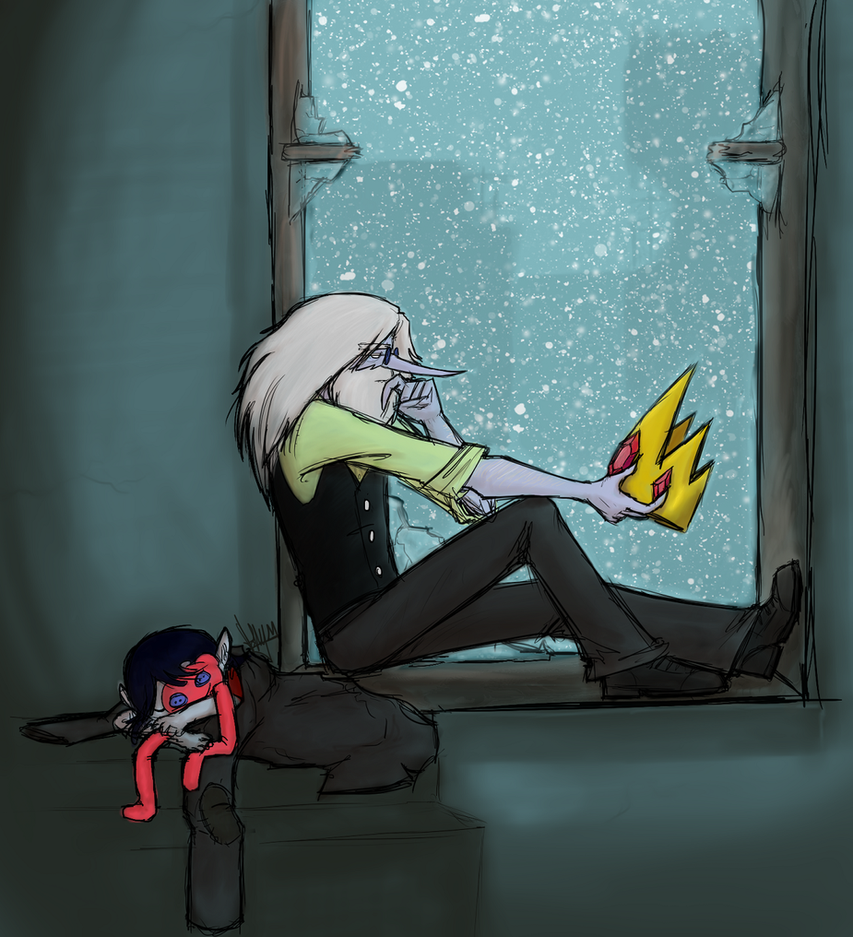 Out there in the cold, getting lonely, getting old by angelblood