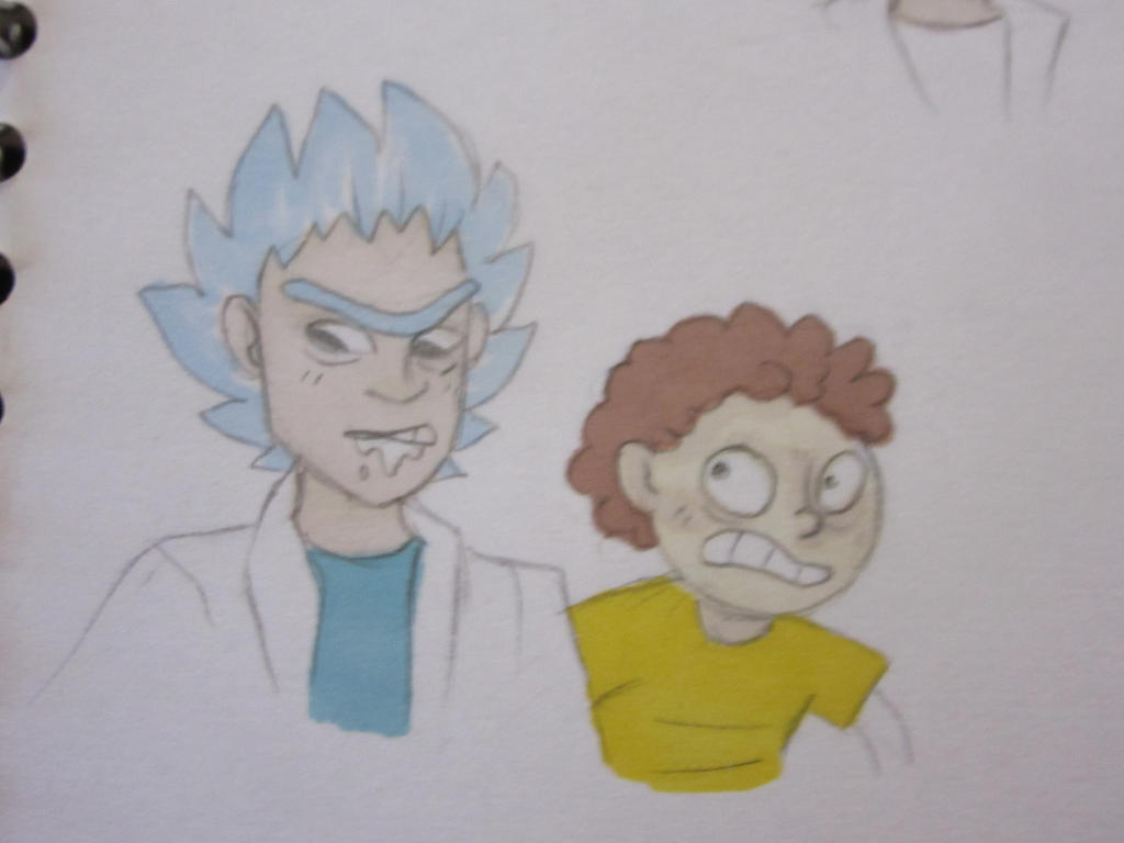 Rick and Morty thing by Lemon-Death