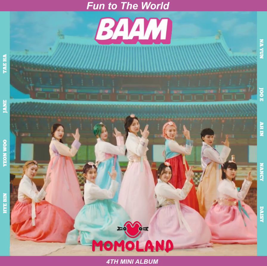 Image result for momoland – baam