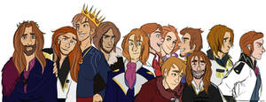 Princes of the Southern Isles (Frozen)