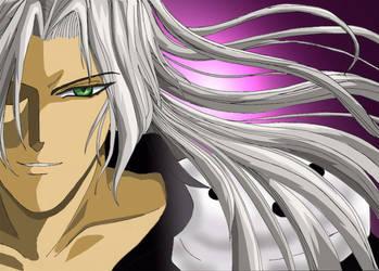 Sephiroth's dark side.... by viviannefair
